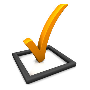 orange check mark shutterstock_106768358